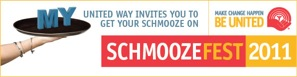 Schmoozefest banner